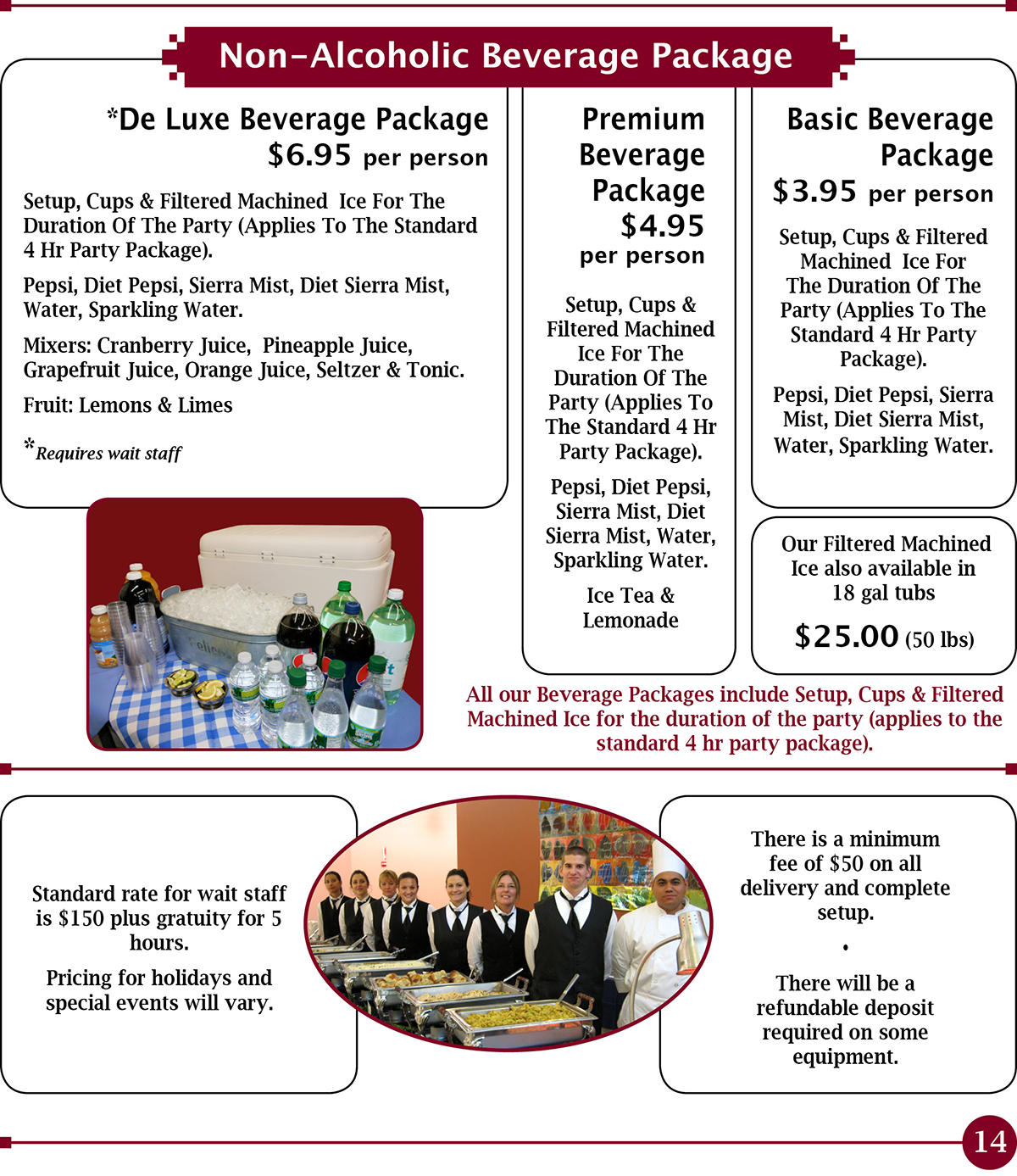 Long Island NY Off Premises Catering for Private and