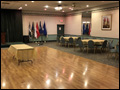 VFW Hall set up for a party