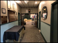 hall way at the VFW Hall in Albertson NY