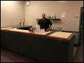 bar area at the Albertson VFW Hall