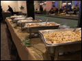 buffet style dinner catered by Felico's Catering at VFW Albertson