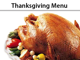 Seasonal Thanksgiving Catering