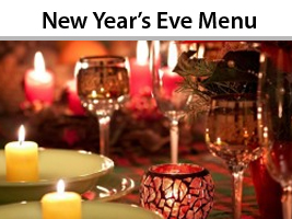 New Years Eve Event Menu