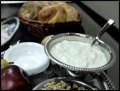 breakfast catering on Long Island with yogurt and granola station with fresh fruit