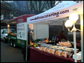 catering tents are set up next to our Long Island mobile food trucks to bring you even greater variety of food choices