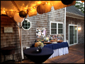 Platters table provided by Felico's Catering for a 50th Birthday party on Long Island
