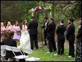 Beautiful outdoor ceremony for a Long Island wedding